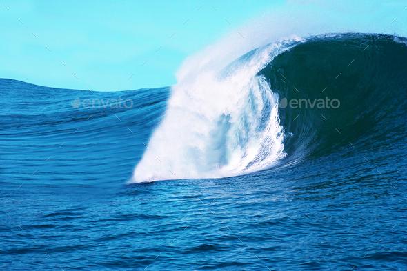 big Wave - Stock Photo - Images