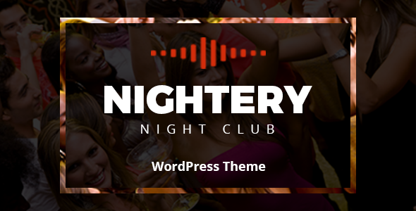 Image of Nightery - Night Club  WordPress Theme