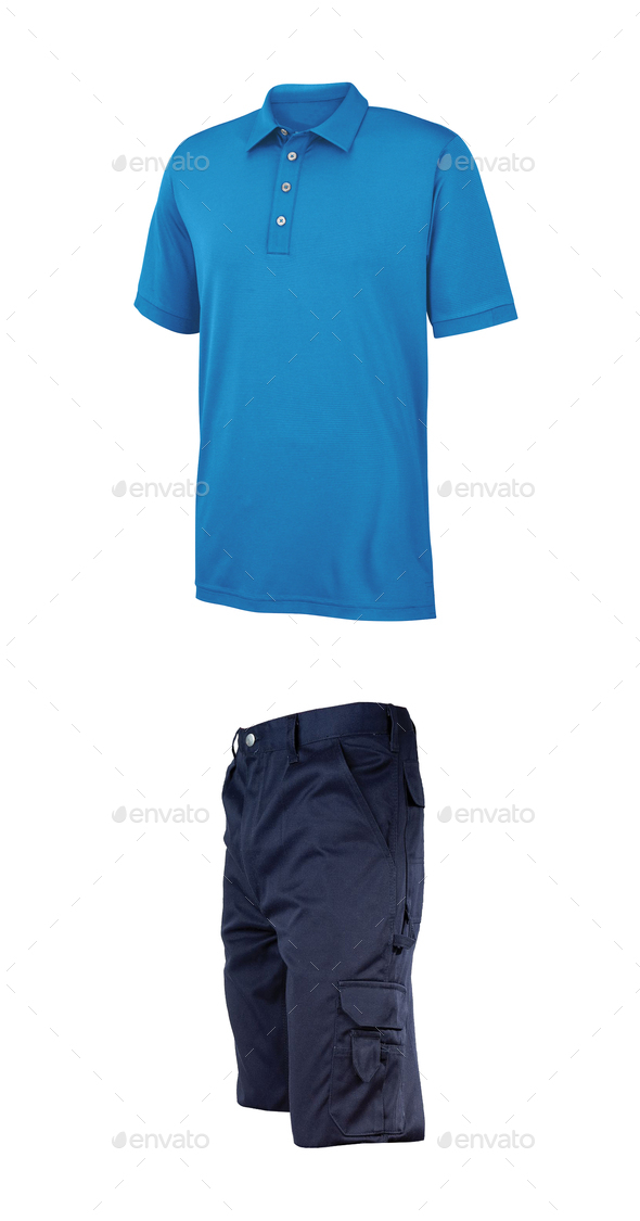 Shirt and shorts - Stock Photo - Images