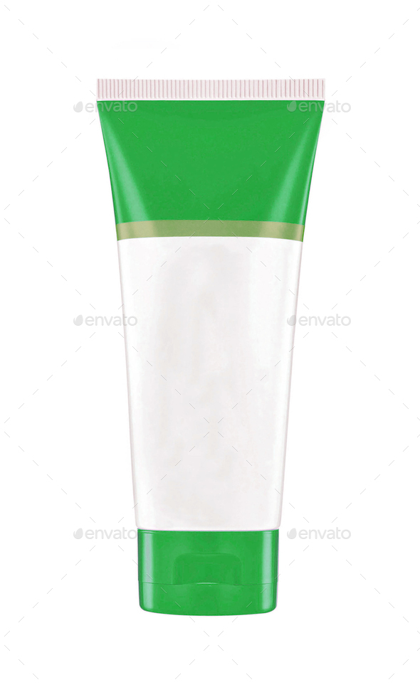 Plastic tube creame - Stock Photo - Images