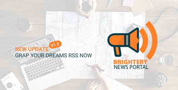 brightery Mega News Portal v3 - CodeCanyon Item for Sale