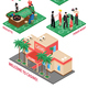 Casino Isometric Elements Set