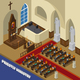 Priestly Ministry Isometric Composition