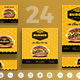 Burger House Social Media Pack - GraphicRiver Item for Sale