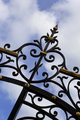 Wrought iron gate - PhotoDune Item for Sale