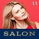 SALON - WordPress Theme for Hair & Beauty Salons - ThemeForest Item for Sale