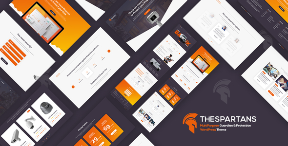 Image of TheSpartans - MultiPurpose Guardian & Protection WordPress Theme