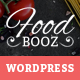 FoodBooz Minimal WordPress Restaurant & Cafe Theme - ThemeForest Item for Sale