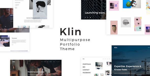 Image of Klin - Multipurpose Portfolio Theme