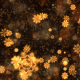 Gold Christmas Snowflakes - VideoHive Item for Sale