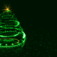 Hi-tech Christmas Tree Backdrop - VideoHive Item for Sale