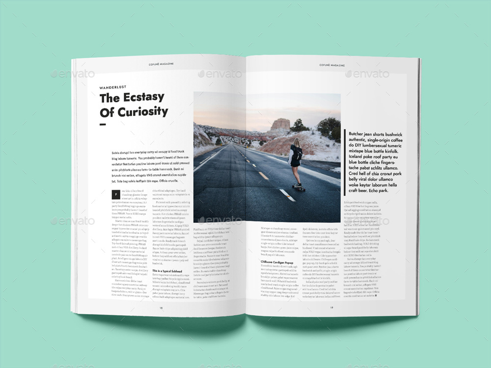 Cofune magazine 40 pages indesign template by danibernd cofune indesign magazine template by danibernd 11g pronofoot35fo Gallery