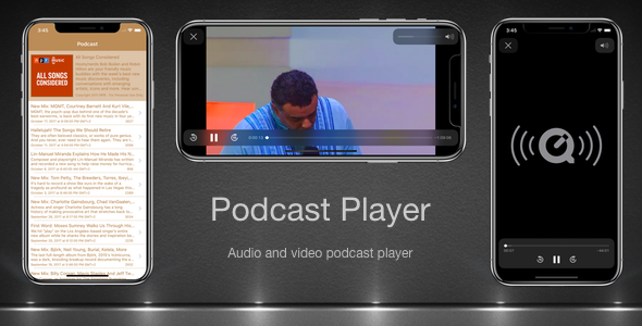Podcast Player - CodeCanyon Item for Sale