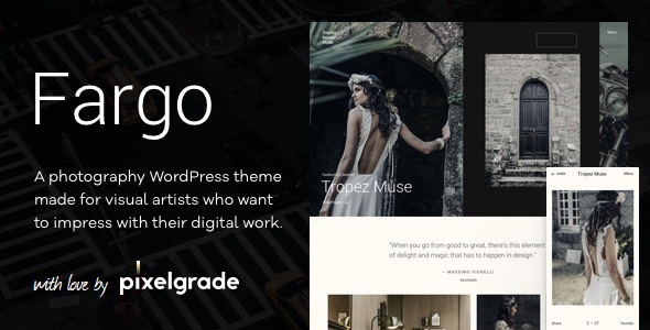Image of Fargo – A Charming Photography WordPress Theme
