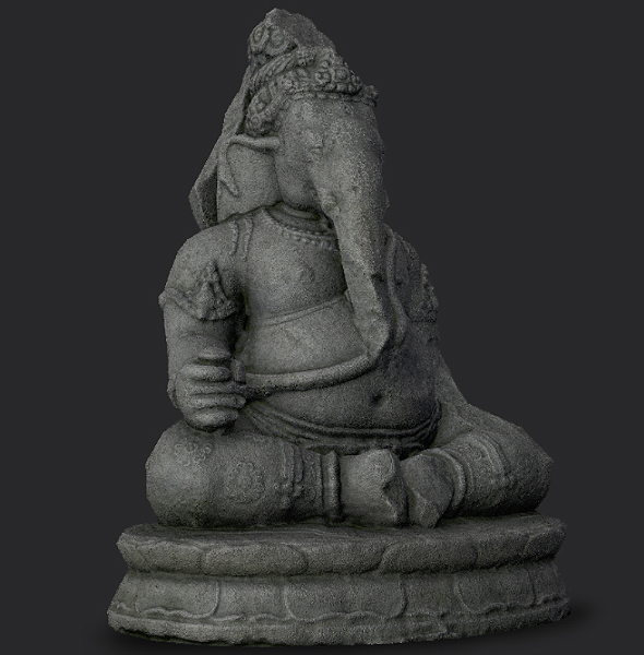 Ganesha Statue - 3DOcean Item for Sale