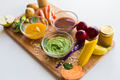 vegetable puree or baby food in glass bowls - PhotoDune Item for Sale