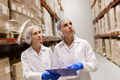 women technologists at ice cream factory warehouse - PhotoDune Item for Sale