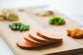 sliced pumpkin on wooden board - PhotoDune Item for Sale
