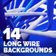 14 Long Wire Backgrounds - GraphicRiver Item for Sale