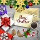 Christmas Design on Wood - GraphicRiver Item for Sale