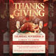 Thankgiving Day Flyer Template - GraphicRiver Item for Sale