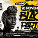Black Party Flyer - GraphicRiver Item for Sale