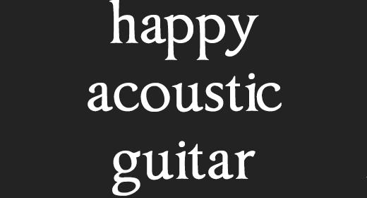 Happy Acoustic Guitar