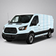 2017 Transit 150 Low Roof Cargo Van - GraphicRiver Item for Sale