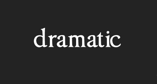 Dramatic Epic