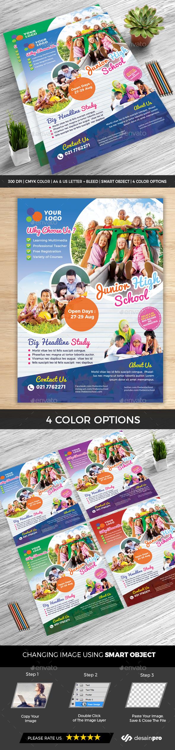 GraphicRiver Education School Flyer 20837772