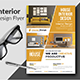 Interior Design Flyer Templates