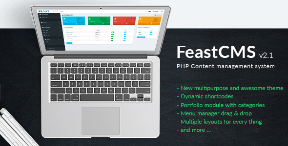 FeastCMS v2.1 - PHP Content management system - CodeCanyon Item for Sale