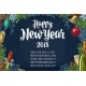 Poster Horizontal Happy New Year Calligraphy - GraphicRiver Item for Sale