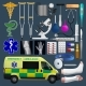 Medical Equipment Set - GraphicRiver Item for Sale