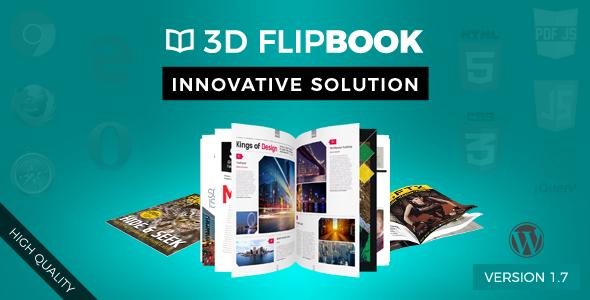 WordPress FlipBook - CodeCanyon Item for Sale