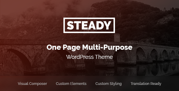 Image of Steady - One Page Multi-Purpose WordPress Theme