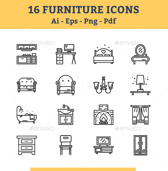 Furniture Icons - Icons