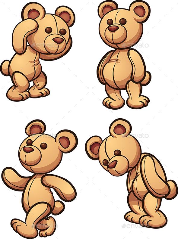 GraphicRiver Teddy Bear 20839191