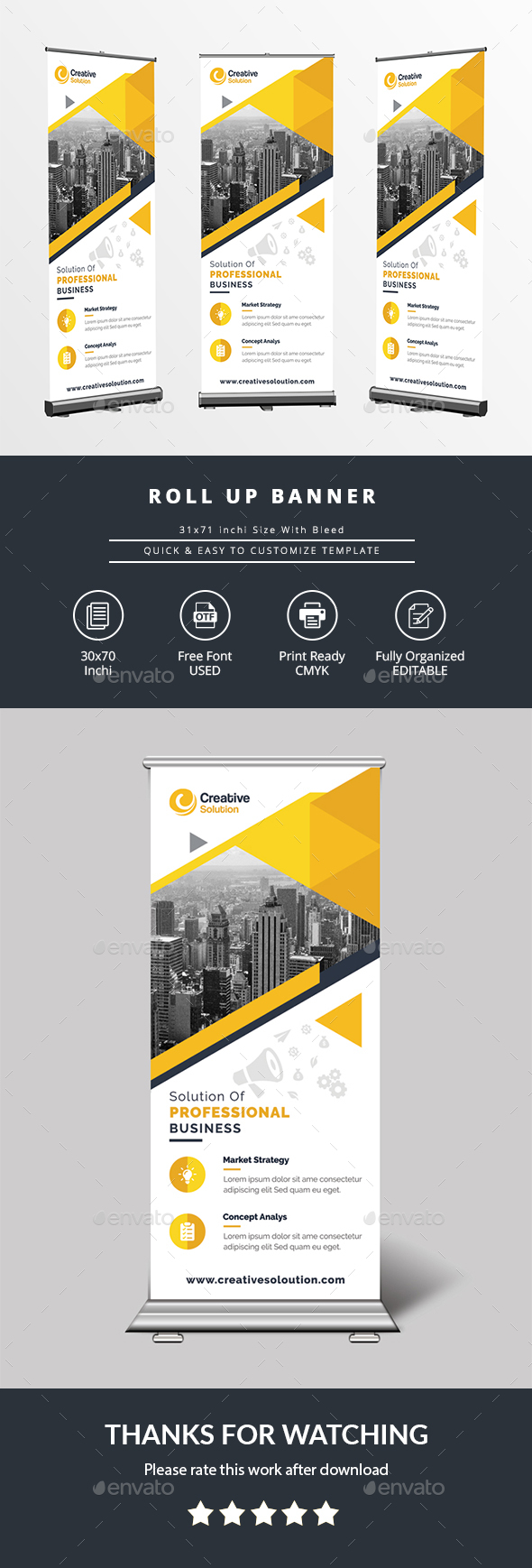 GraphicRiver Roll Up Banner 20839367