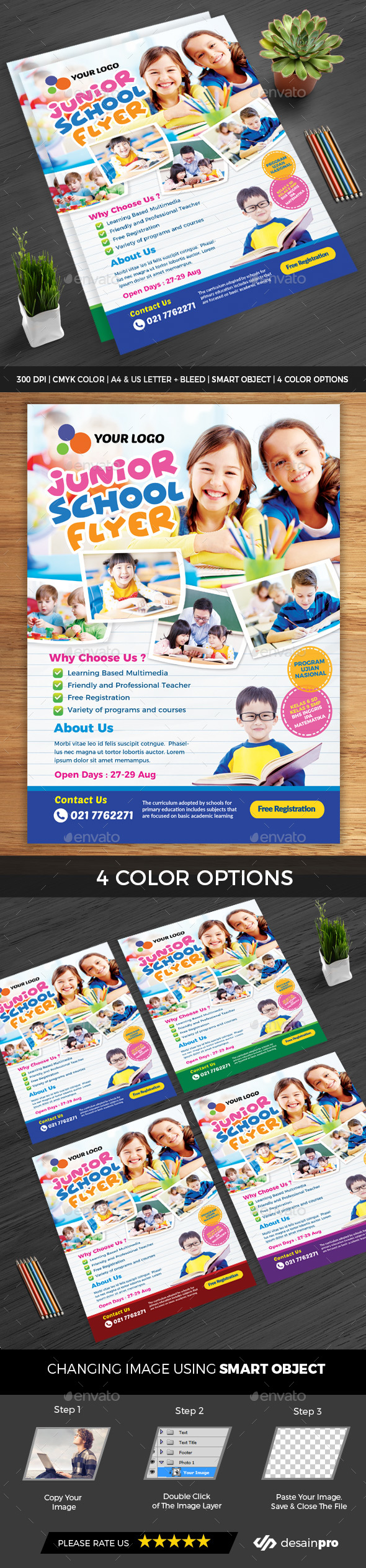 GraphicRiver Education Flyer 20839398