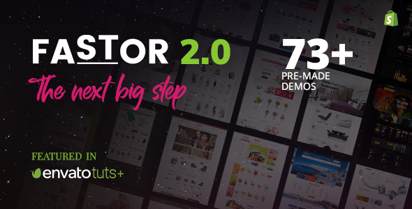 Image of Fastor - Multipurpose Shopify Sections Theme