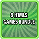 8 HTML5 Game Bundle - CodeCanyon Item for Sale