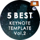 5 in 1 Creative Keynote Bundle Vol. 2