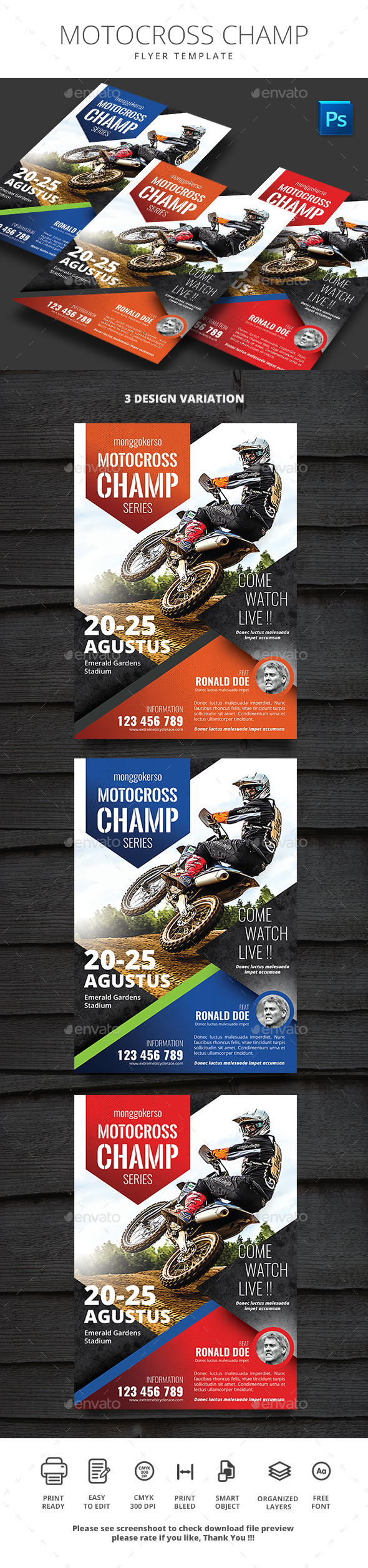 Motocross Champ - Sports Events