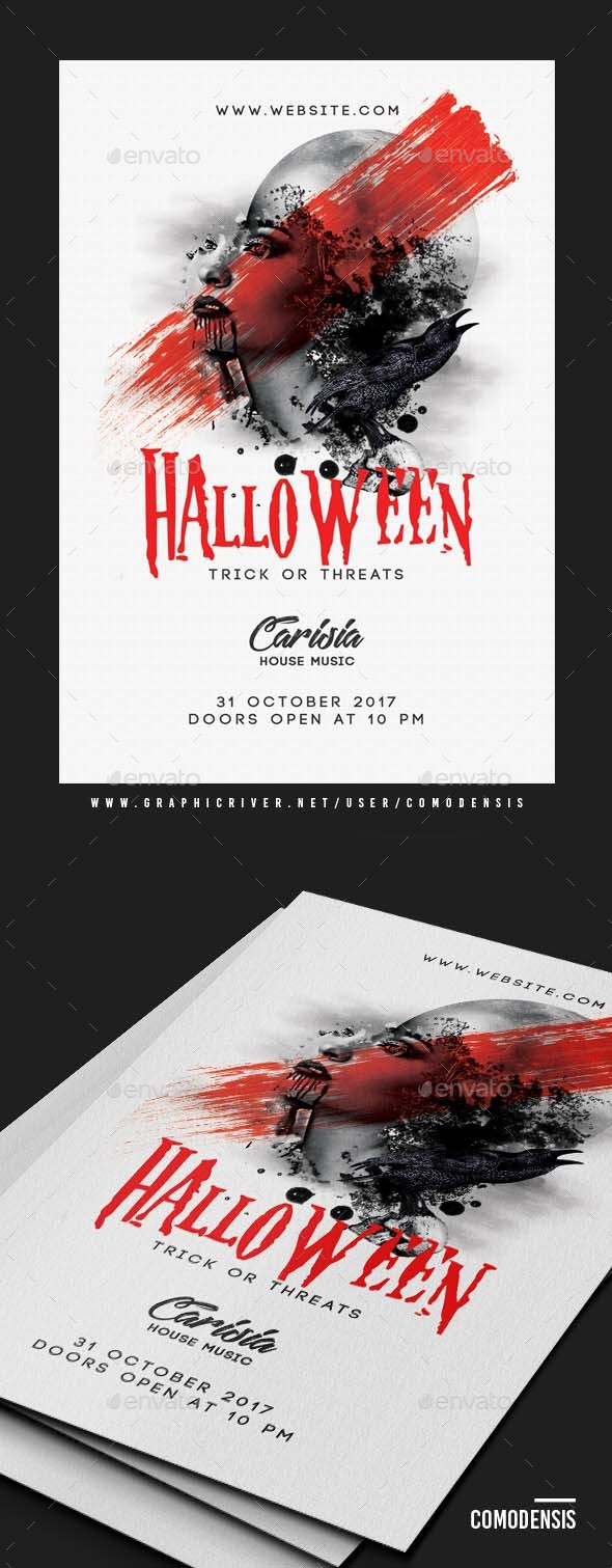 GraphicRiver Halloween Flyer Party 20839769