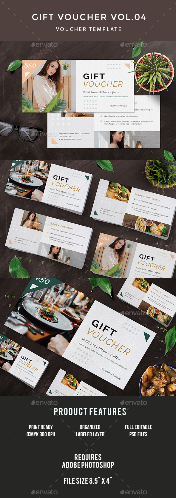 GraphicRiver Gift Voucher 20839938