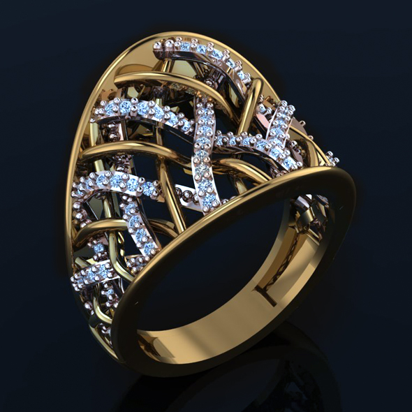 Zer Ring - 3DOcean Item for Sale