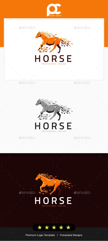 GraphicRiver Horse Logo Template 20839993