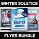 Winter Solstice Flyer Bundle - GraphicRiver Item for Sale
