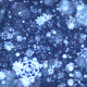 Blue Christmas Snowflakes - VideoHive Item for Sale